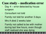 case study medication error1