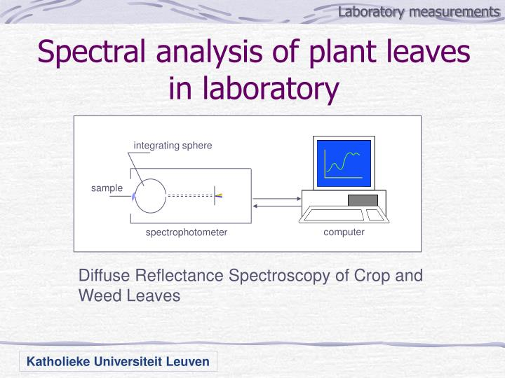 Laboratory measurements
