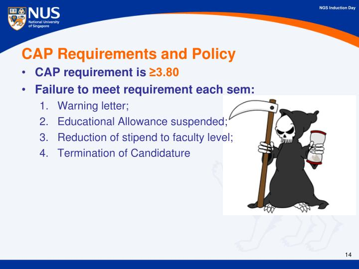 CAP Requirements and Policy