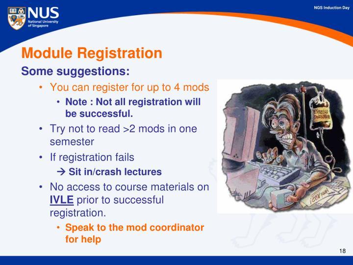 Module Registration