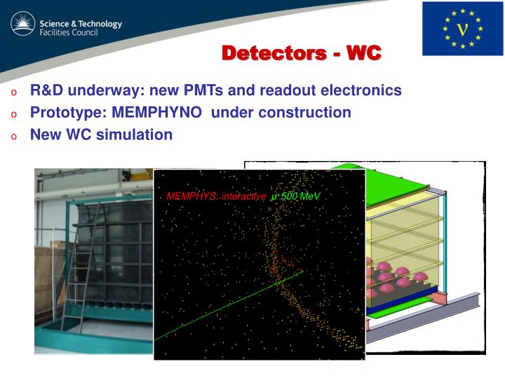 R&D underway: new PMTs and readout electronics