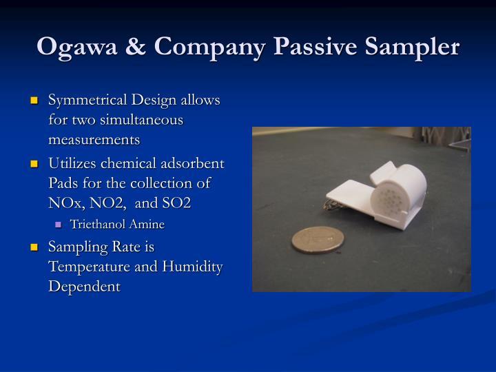 Ogawa & Company Passive Sampler