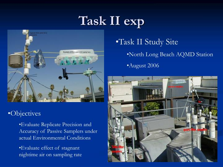 Task II exp
