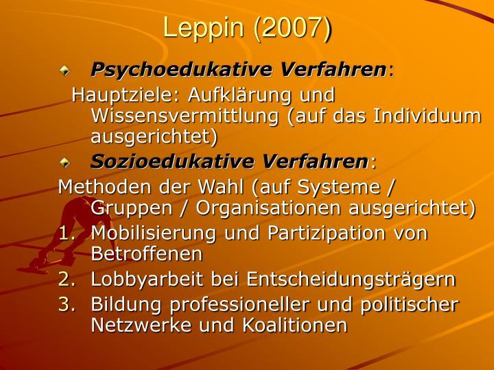 Leppin (2007)