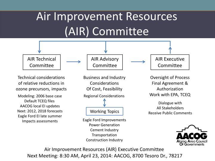 Air Improvement Resources
