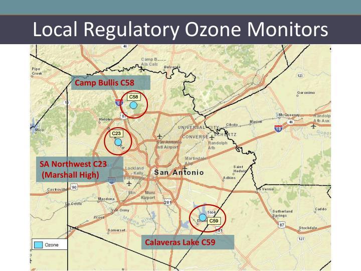Local Regulatory Ozone Monitors