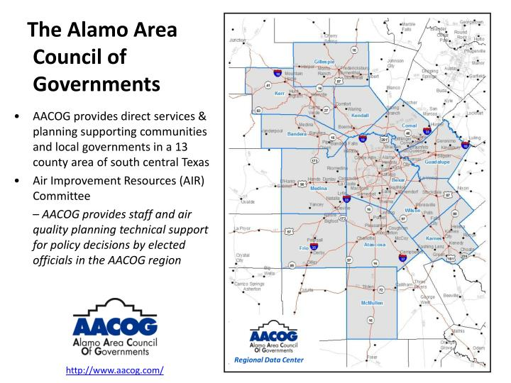The Alamo Area Council of Governments