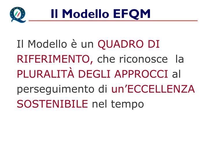 Il Modello EFQM