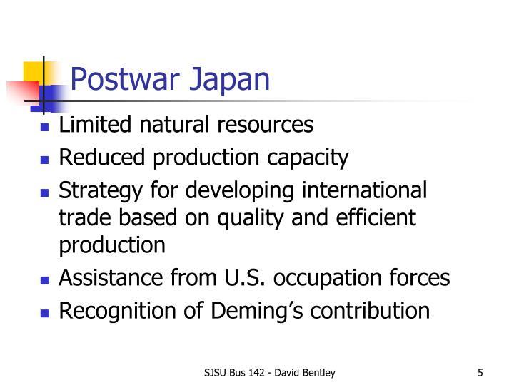 Postwar Japan
