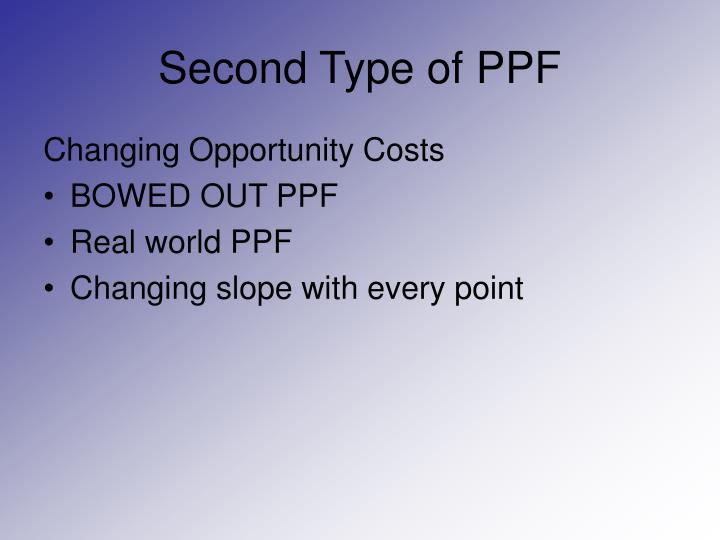 Second Type of PPF