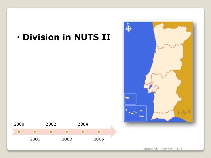 Division in NUTS II