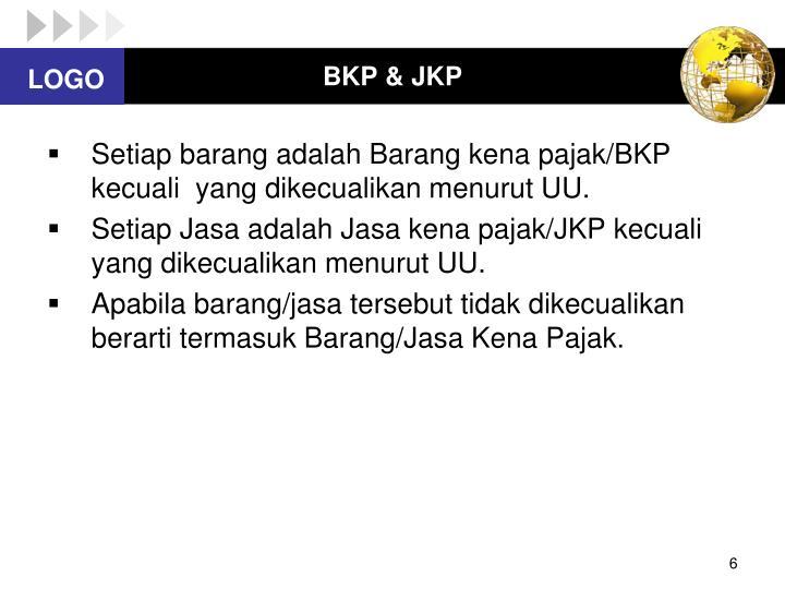 BKP & JKP