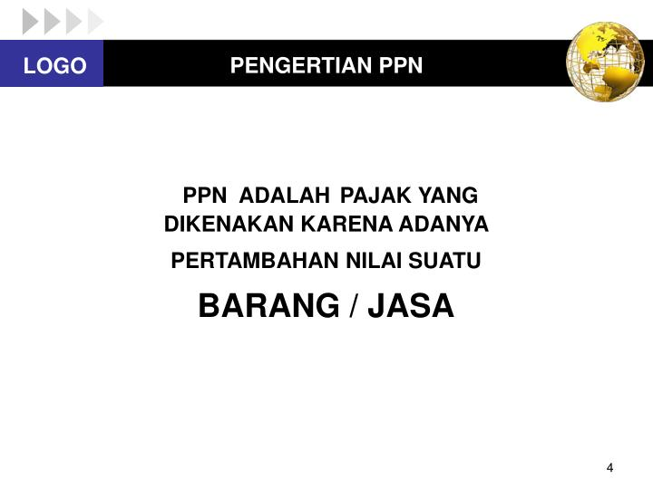 PENGERTIAN PPN