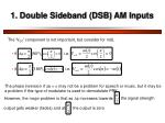 1 double sideband dsb am inputs3