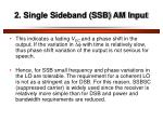 2 single sideband ssb am input3