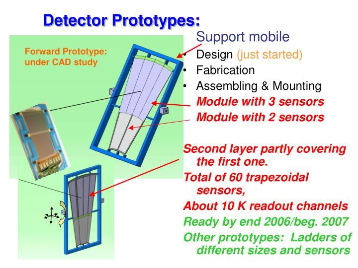 Detector Prototypes: