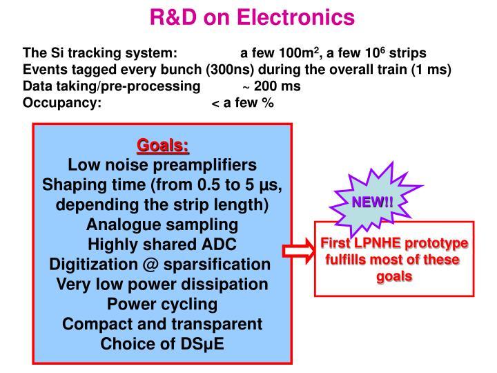 R&D on Electronics