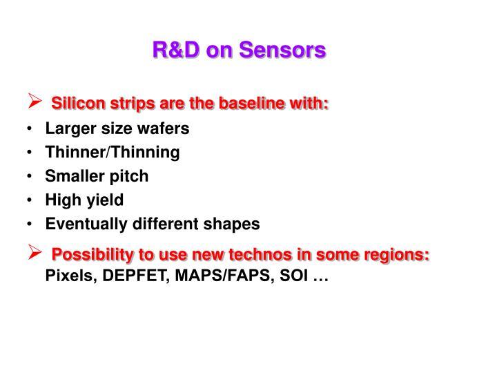 R&D on Sensors