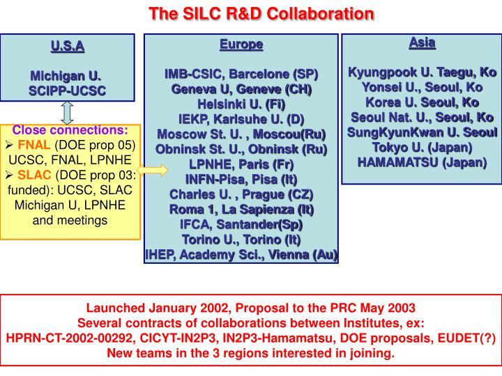 The SILC R&D Collaboration