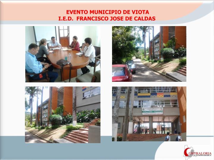 EVENTO MUNICIPIO DE VIOTA