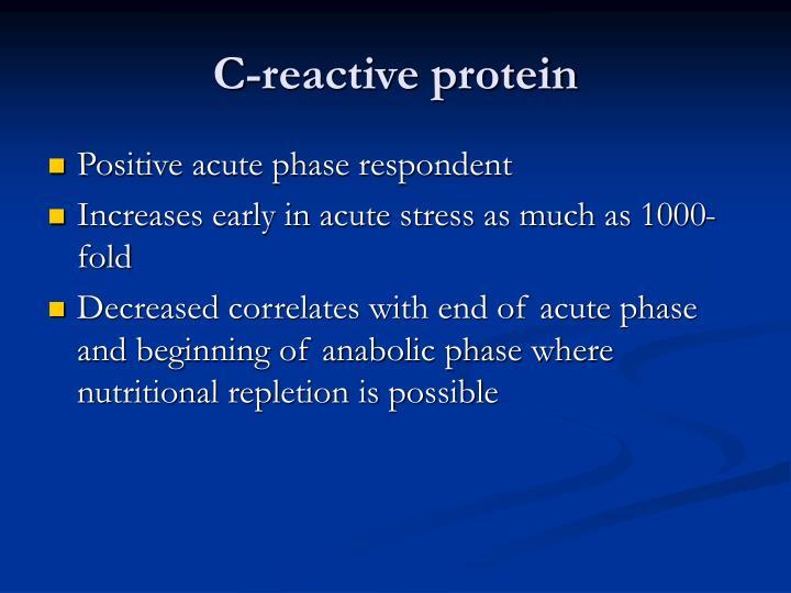 C-reactive protein