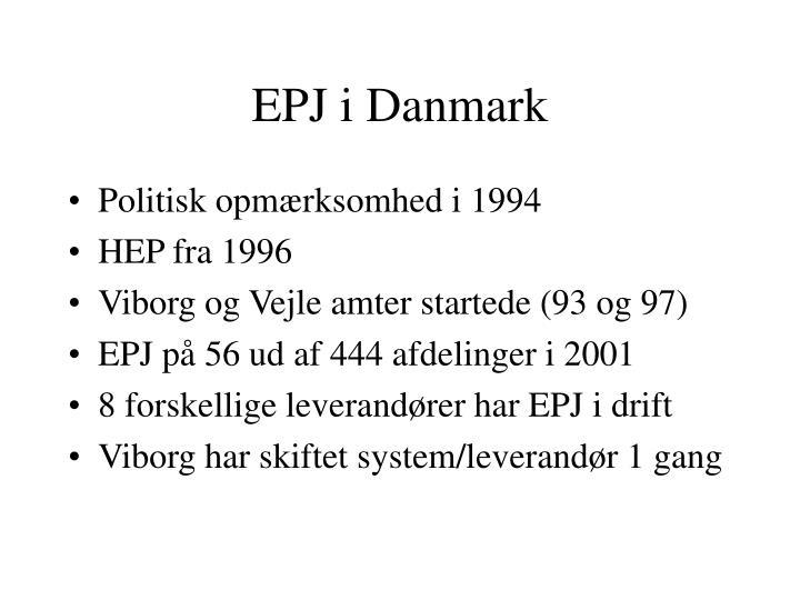 EPJ i Danmark