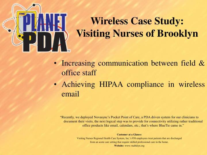 Wireless Case Study: