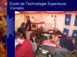 ecole de technologie superieure canada