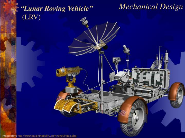 """Lunar Roving Vehicle"""