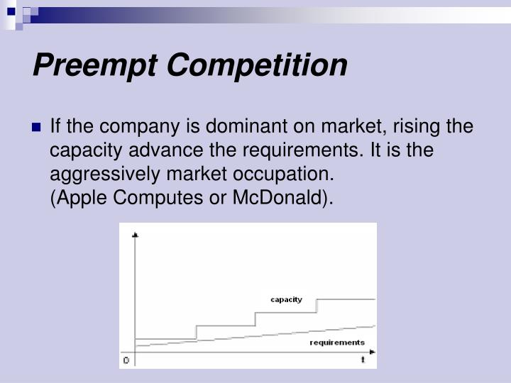 Preempt Competition