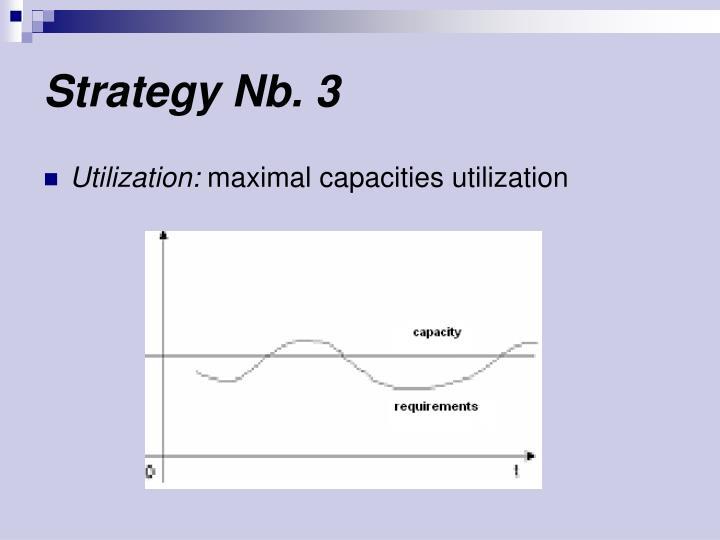 Strategy Nb. 3