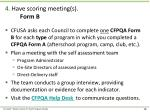 4 have scoring meeting s form b