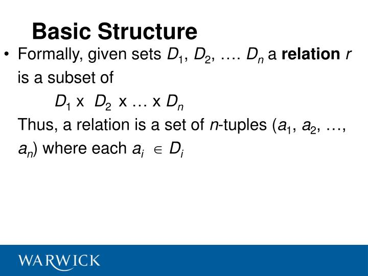 Basic Structure