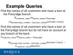 example queries1