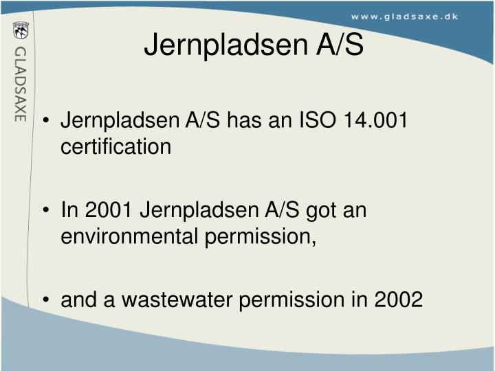Jernpladsen A/S