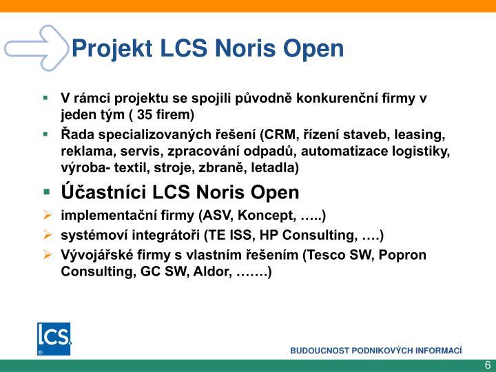 Projekt LCS Noris Open