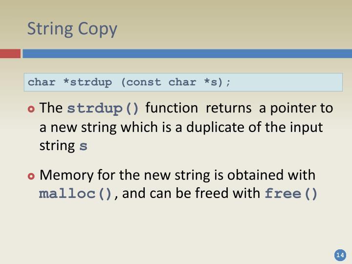 String Copy