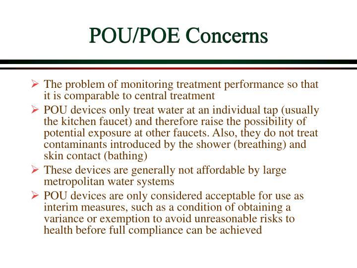 POU/POE Concerns