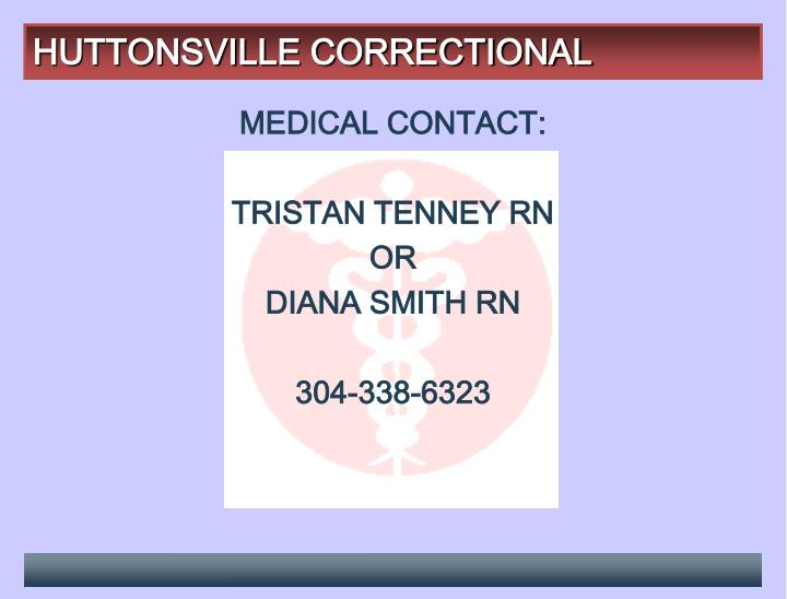 HUTTONSVILLE CORRECTIONAL