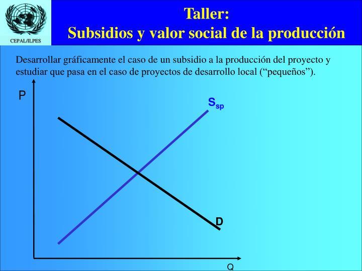 Taller: