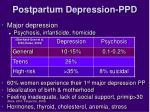 postpartum depression ppd