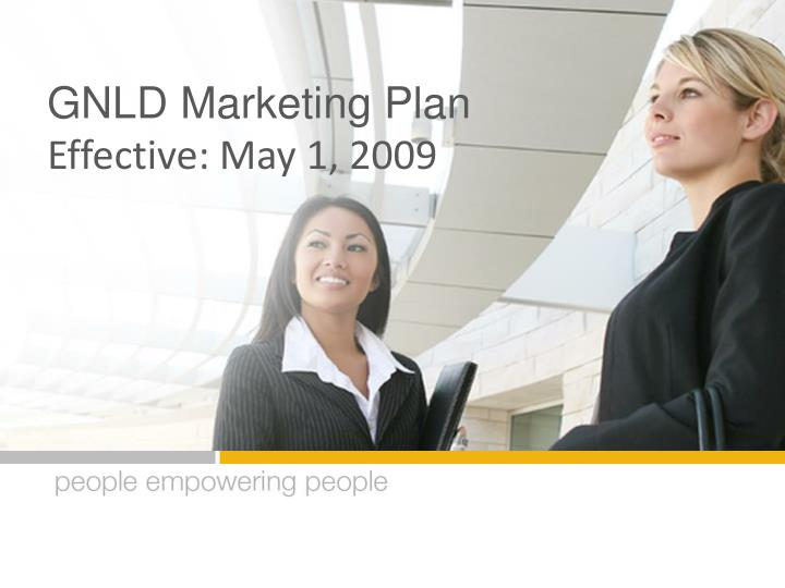 GNLD Marketing Plan