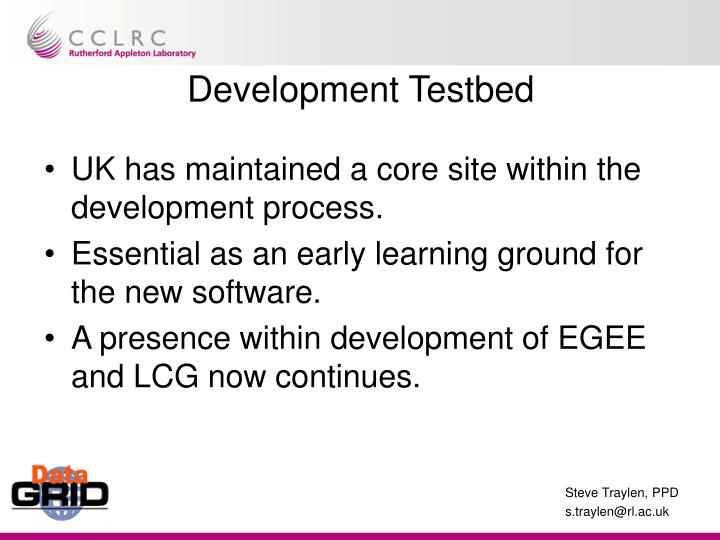 Development Testbed