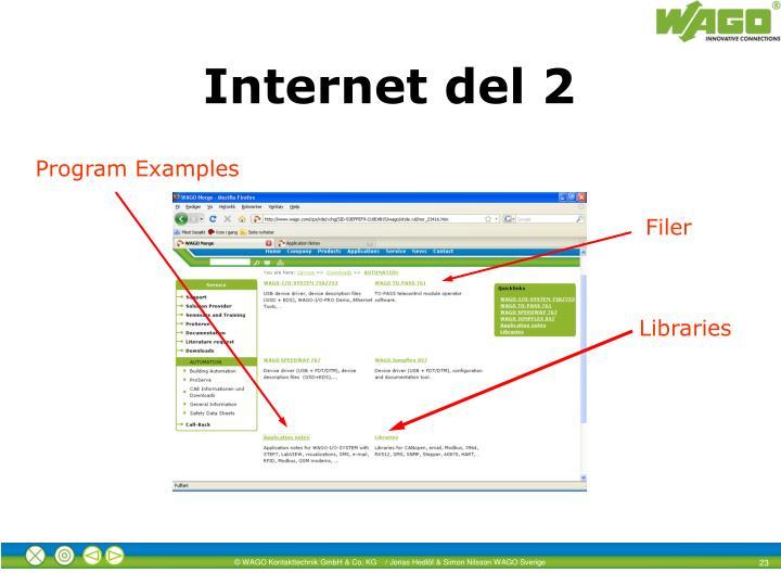 Internet del 2