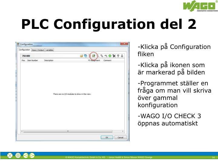 PLC Configuration del 2