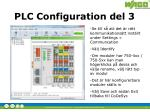 plc configuration del 3