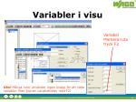 variabler i visu