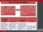 icd 10 data analytics