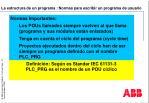 la estructura de un programa normas para escribir un programa de usuario