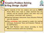 creative problem solving eng design i ii1